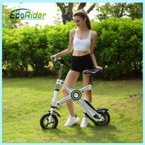 2016 Electric Folding Bike E-Scooter Brushless Motor Dirt Fodable Bicycle pictures & photos