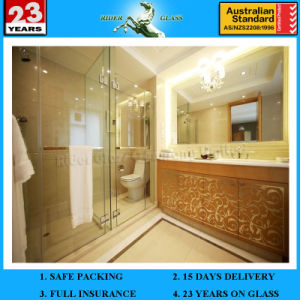 4mm 5mm Big Shower Room Wall Mirror Glass Round/Oval/Rectangle Silver Mirror Glass pictures & photos