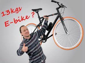 12.2kg Smart Electric Bike