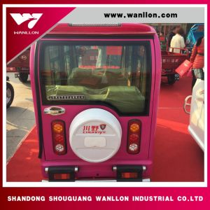 650W High Quality Passenger Tricycle Mini Bus pictures & photos
