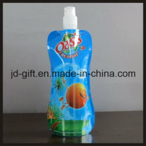 Promotional Printed Logo PE Sport Foldable Drinking Bottles pictures & photos