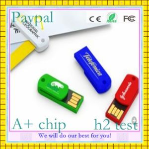 Paypal Low Cost 1GB Mini USB Flash Memory (GC-M005) pictures & photos