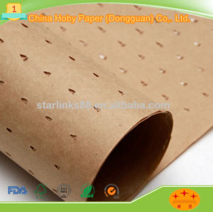 Smooth and Strong Punched Kraft Paper pictures & photos