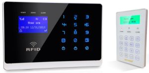 Wireless Wolf Guard Intercom GSM Home Automation Burglar RFID Alarm Security System with LCD Display and Touch Keypad (YL-007M2FX) pictures & photos