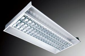 Euro Diffuse Reflection I-Shape Grid Space Lamp Panel Series with Frame