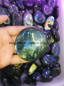 Se Natural Crysal Labrodorite Display Crafts Massage Stone Gift pictures & photos