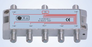 5-2500MHz Satellite Tap (Power pass) B306