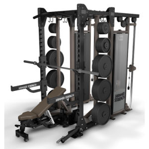 Professional Fitness Equipment HD Elite Half Rack & DAP (SF1-6001) pictures & photos