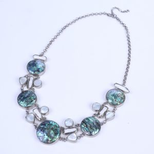 Abalone Shell Necklace with Freshwate Pearl pictures & photos