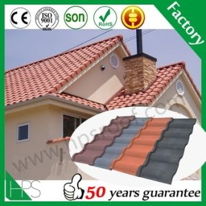 New Zealand Stone Chip Metal Roofing Sheets in Kenya / Tanzania / Nigeria pictures & photos