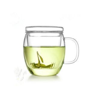 Glassware / Glass Jar / Tea Pot / Tea Cup / Mug with Lid pictures & photos