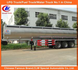 Heavy Duty Tri-Axle 45000liters Aluminum Alloy Oil Tank Trailer pictures & photos