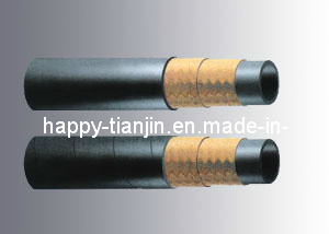 R3 Nonmetallic Fiber Braided High Pressure Hydraulic Hose pictures & photos