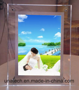 Wall Mounted Small LED Crystal Acrylic Light Box pictures & photos