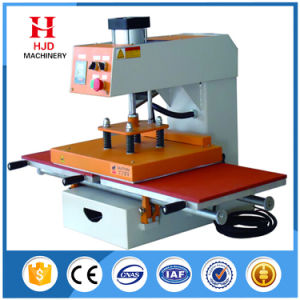 Double Position Semi-Automatic Heat Transfer Machine with Good Quality pictures & photos