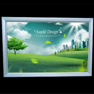 A0 A1 A2 A3 A4 Aluminium Snap Frame Backlit Film Banner Slim LED Poster Light Box pictures & photos