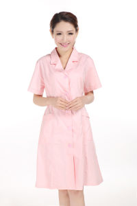2014 New Style Pink Hospital Uniform for Nurse pictures & photos