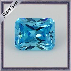 Various Loose Diamond Cut Natural Aquamarine Stones (STG-20) pictures & photos