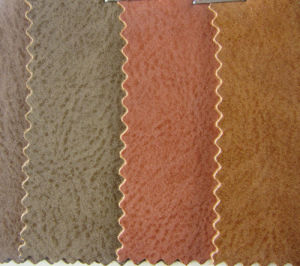 Wax PU Leather for Shoe (YT1502) pictures & photos