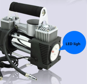 12V Electric Car Air Compressor 4X4 Tyre Inflator Portable Kit Pressure Pump 4WD Portable Car Tyre Pump pictures & photos
