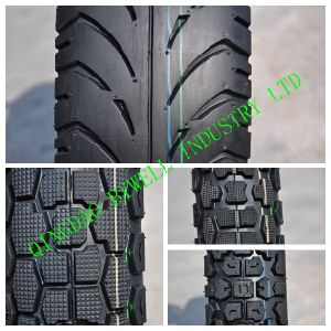 High Quality Motorcycle Tires with Various Patterns (275-18, 250-17)