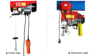 Mini Wire Rope Electric Hoist, Mini Cable Hoist pictures & photos