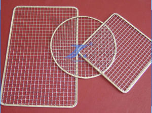 High Quality Stainless 304 Round Wire Mesh Barbecue Netting pictures & photos