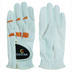 2015 New Style PU Synthetic Leather All Weathergolf Glove (PGL-15) pictures & photos