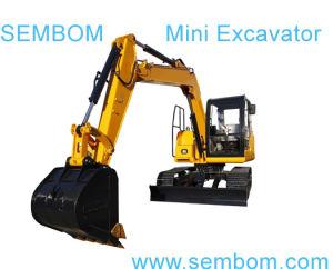 Multifunction Mini Excavator 7ton (SE70) for Farming, Civic Building, Gardening pictures & photos