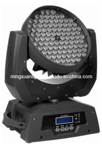 Cheap 108*3W LED Stage Light Moving Head Wash Zoom pictures & photos