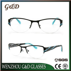 New Design Stainless Spectacle Frame Optical Frame 46-053 pictures & photos
