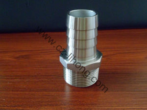"""3/8"""" Stainless Steel 316 Hose Nipple From Casting or Pipe pictures & photos"""