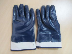 Nitrile Chemical Resistant Glove pictures & photos