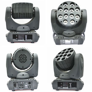 Competitive Price 12PCS 12W RGBW LED Moving Head Light pictures & photos