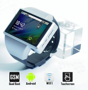 Android Watch Phone Dk Z1 With5.0MP Camera Signal Card GPS WiFi Quad Band 8GB TF Bluetooth Earphone (Z1)