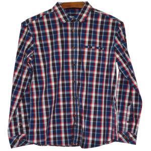 Xdl15038 Men′s Check Shirt 100% Cotton