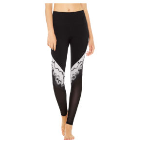 Hot Popular Printed Jeans Leggings Tights for Gym Wear pictures & photos