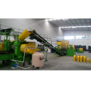 Tyre Recycling Line to Rubber Block and Powder pictures & photos