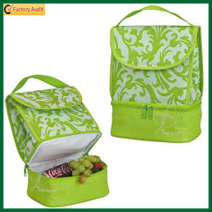Double Layer Picnic Bag Lunch Cooler Bags (TP-CB355) pictures & photos