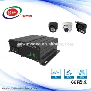 Mobile DVR 8 Channel Video Surveillance Mdvr H. 264 SD Card 4 Channel Mobile DVR with 3G