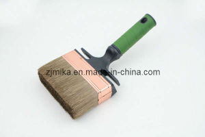 Bent Rubber Plastic Handle Wall Paint Brush pictures & photos