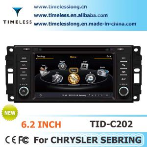 2 DIN Car DVD Player for Chrysler 300c / Dodge RAM/ Jeep Grand Cherokee with Built-in GPS A8 Chipset RDS Bt 3G/WiFi DSP Radio 20 Dics Momery (TID-C202)