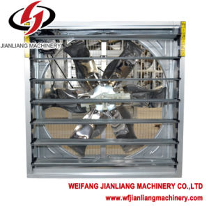 High Quality---Galvanized Push-Pull Husbandry Industrial Exhaust Fan for Greenhouse and Poultry. pictures & photos