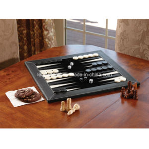 Leather Indoor and Outdoor Classics 3-in-1 Slate Game pictures & photos