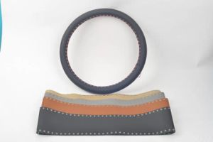 Hand Sewing Car Steering Wheel Covers pictures & photos