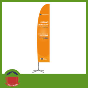 Top Quality Orange Color Flag Banner pictures & photos