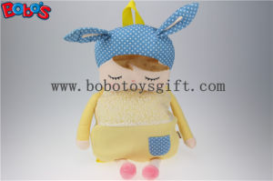 "19.6""Long Ears Yellow Rabbit Plush Backpack for Children in Kindergarten Pupils Bos-1227/50cm pictures & photos"