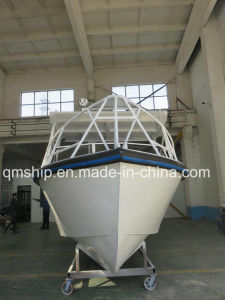 28FT Center Cabin Aluminum Fishing Boat with Hardtop pictures & photos