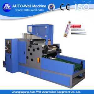 Automatic Aluminum Foil Rewinding Machine for Food Packaging Roll pictures & photos