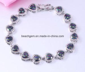 Jewellery-Brass Mystic Cubic Zirconia Bracelet pictures & photos